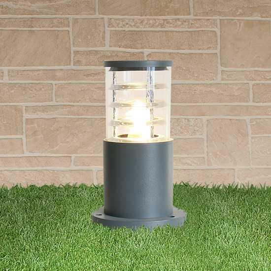 ландшафтный светильник 1508 TECHNO серый фото