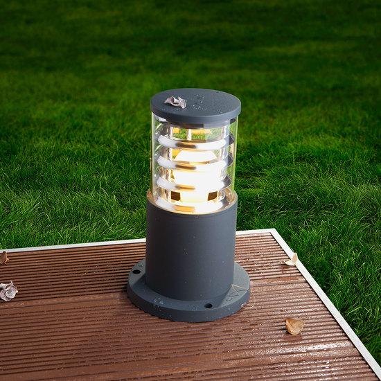 Фото №9 ландшафтный светильник 1508 TECHNO серый