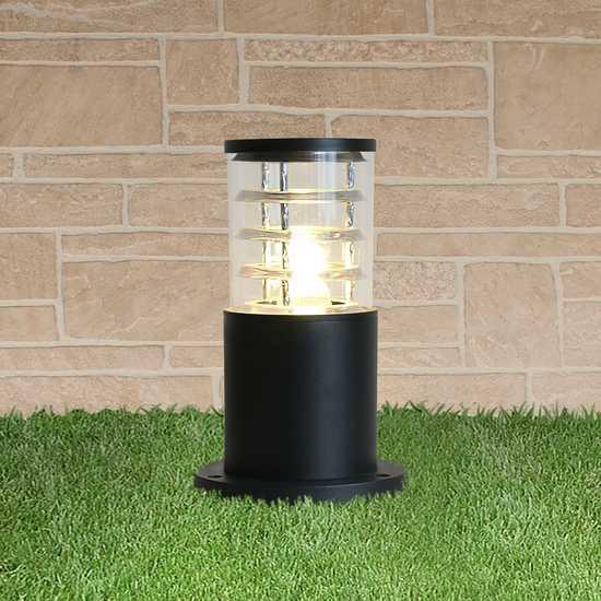 ландшафтный светильник 1508 TECHNO черный фото