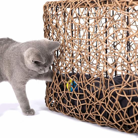 Фото №4 Лежанка-домик для кошки