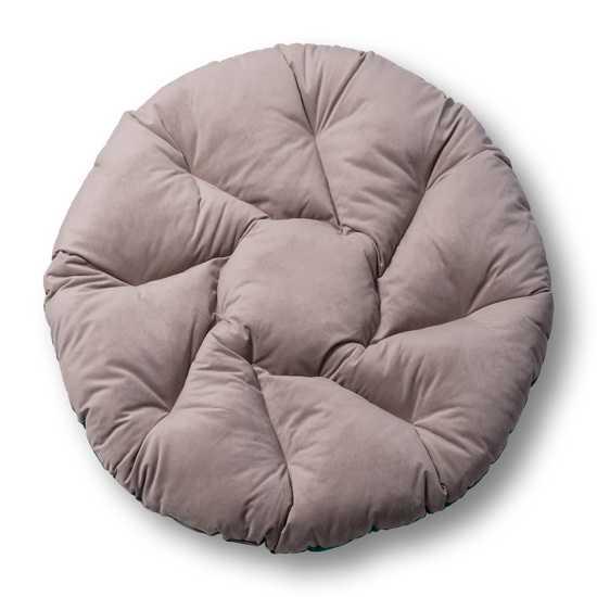 Подушка двухцветная круглая для подвесных кресел (коконов)