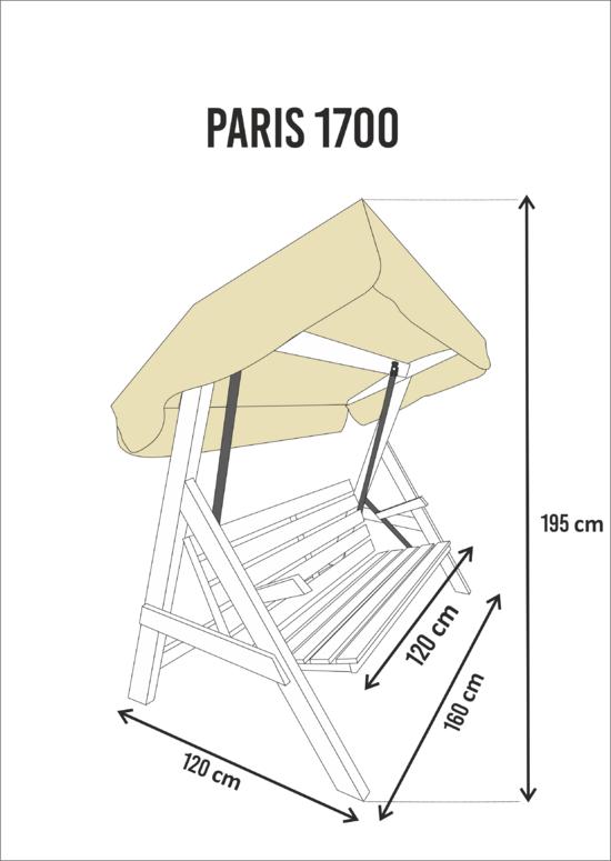 фото Садовые качели PARIS