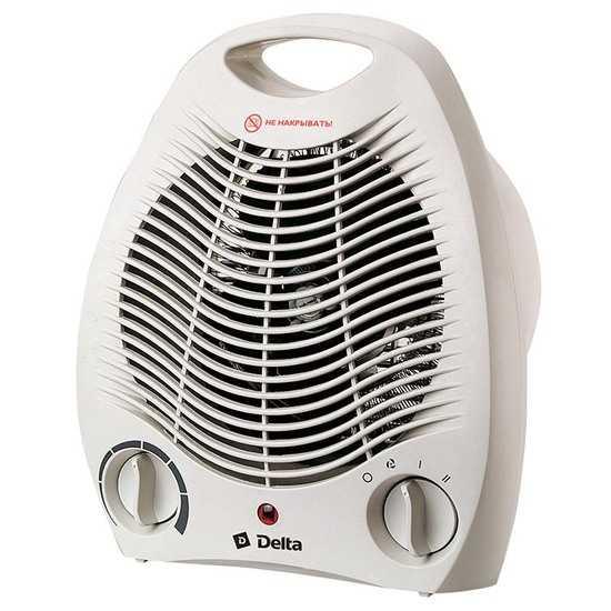 Фото №2 Тепловентилятор электрический 2000 Вт DELTA D-602