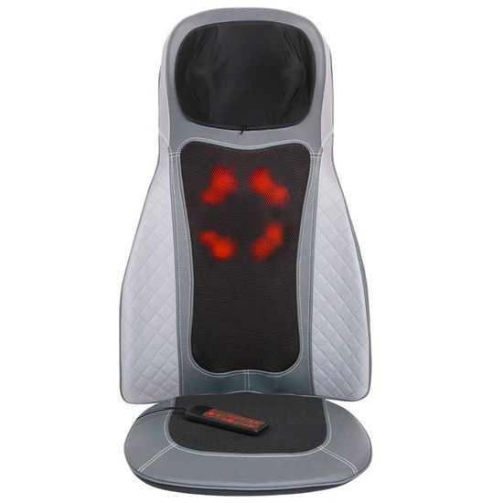 Массажная накидка Body Care PLUS, 8+4 ролика, массаж шеи, вибромассаж, пульт ДУ, 220/12В, GESS фото