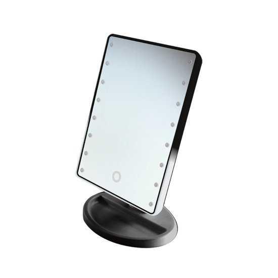 Настольное зеркало uLike Mini для макияжа с подсветкой, сенсорный экран, 16 LED ламп, GESS фото