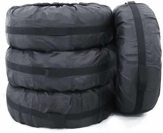 Плотные чехлы для хранения и транспортировки шин фото