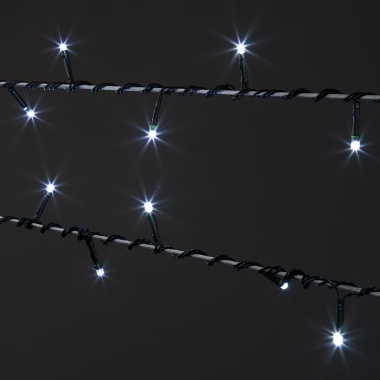 Фото №5 Праздничная гирлянда НИТЬ белый 10м IP20 400-002