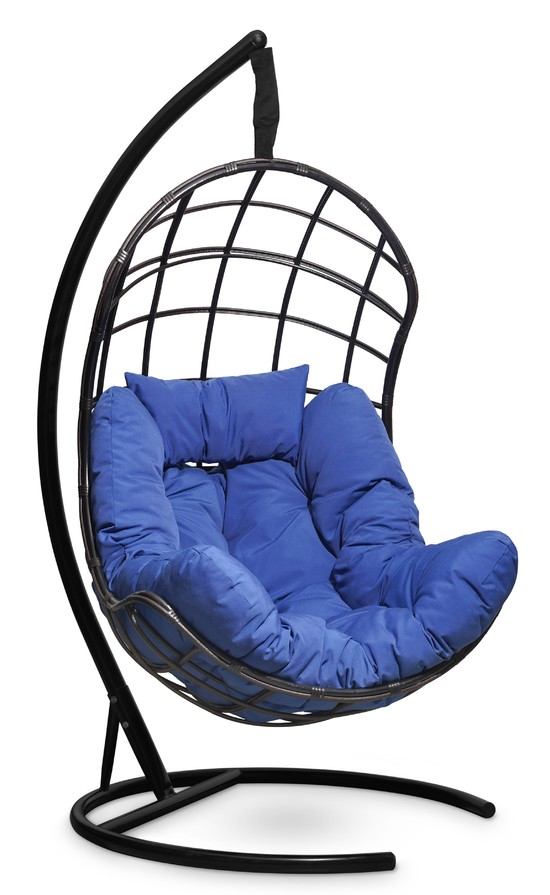 Фото №4 Подвесное кресло-кокон БАРСЕЛОНА ПЛЮС + каркас