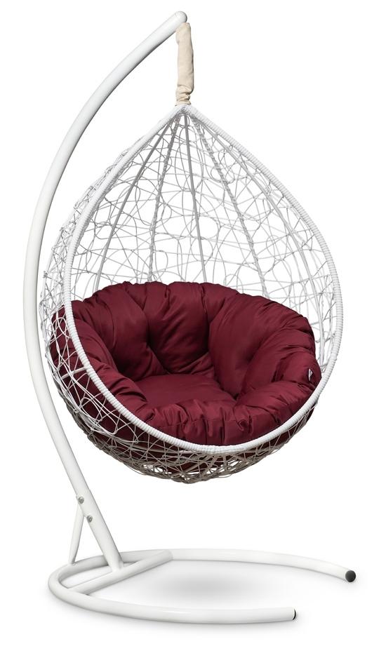 Фото №3 Подвесное кресло SEVILLA VERDE белое + каркас