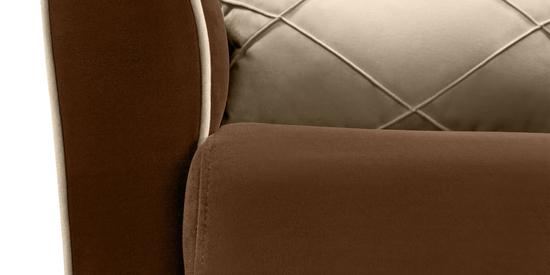 Фото №9 Кресло мягкое ФЛЭТФОРД (темно-коричневое)