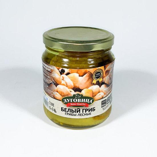 Фото №2 Грибы Луговица New Quality Белый гриб маринованные 500 мл