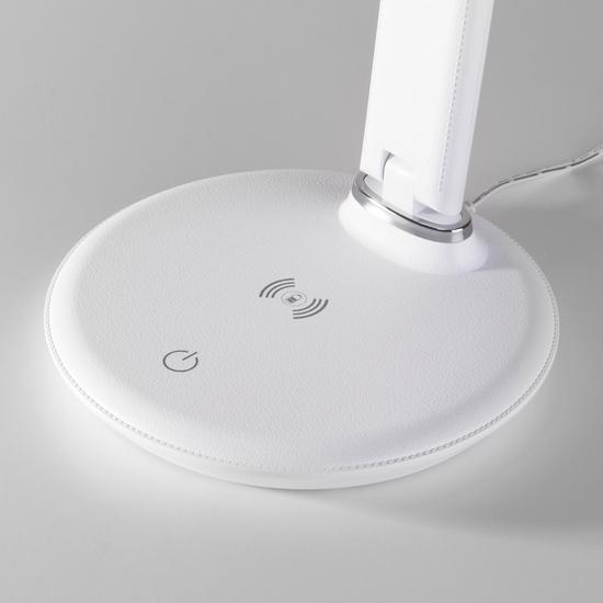 Фото №6 Настольный светодиодный светильник Brava белый TL90530