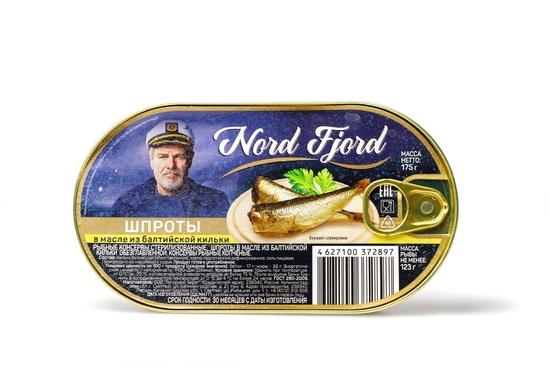 """Фото №3 Шпроты в масле из балтийской кильки """"Nord Fjord"""""""