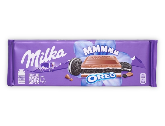 Фото №3 Шоколад Milka Oreo 300г