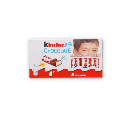 Фото №3 Шоколад Kinder 8 порций 100г