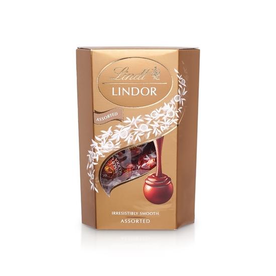 Фото №2 Шоколадные конфеты Lindt Lindor Assorted 200гр