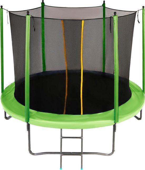 Фото №2 Батут JUMPY Comfort 10 FT (Green / Blue)