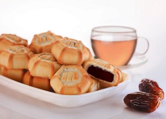 Фото №3 Песочное печенье Маамуль мини (Mamoul mini) с начинкой из финиковой пасты  0.192 гр