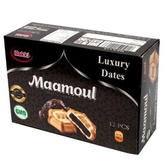 Фото №2 Песочное печенье Маамуль мини (Mamoul mini) с начинкой из финиковой пасты  0.192 гр