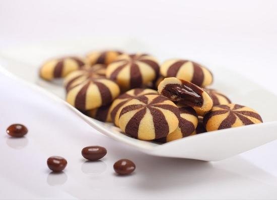 Фото №3 Песочное печенье Латар (Latar)  с жидким шоколадом 0,168 гр