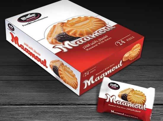 Фото №2 Песочное печенье Маамуль  (Mamoul)  с начинкой из финиковой пасты 0,625 гр