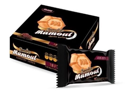 Фото №2 Песочное печенье Маамуль Джамбо (Mamoul jambo) 0,900 гр