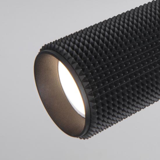 Фото №5 Трековый светильник для однофазного шинопровода Spike GU10 черный MRL 1011