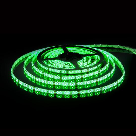 Фото №2 Светодиодная лента 2835/60Led 4,8W IP20 зеленый свет