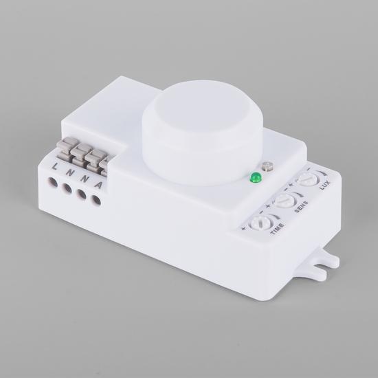 Фото №2 Микроволновый датчик движения 10м 1200W 360° IP20 Белый SNS-M-13