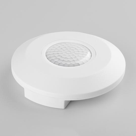 Фото №2 Инфракрасный датчик движения 6m 2,2-4m 2000W IP20 360 Белый SNS-M-11