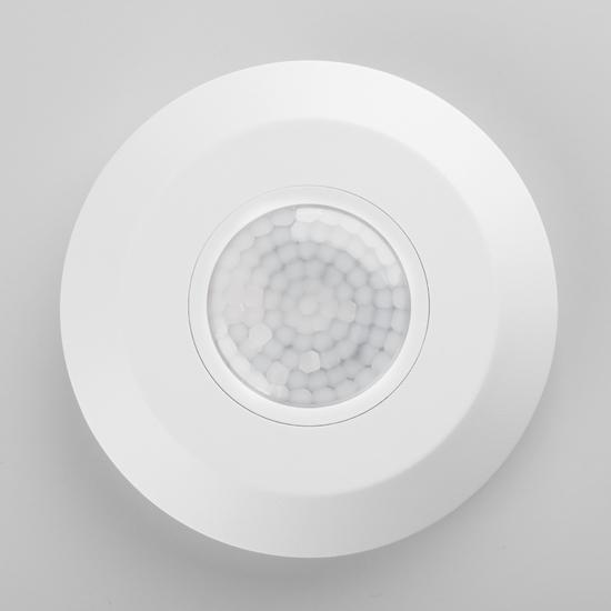 Фото №3 Инфракрасный датчик движения 6m 2,2-4m 2000W IP20 360 Белый SNS-M-11