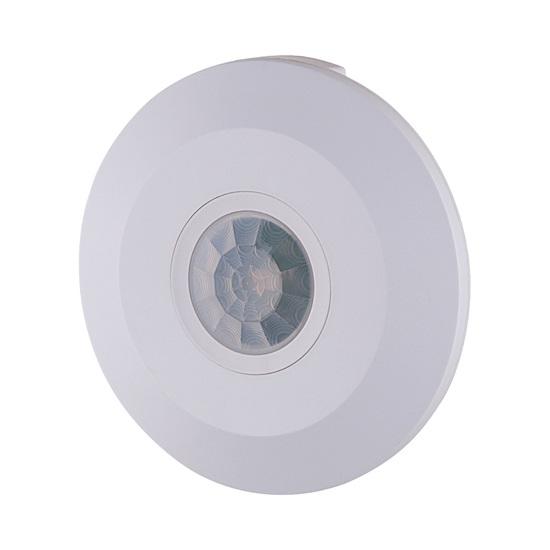 Фото №5 Инфракрасный датчик движения 6m 2,2-4m 2000W IP20 360 Белый SNS-M-11