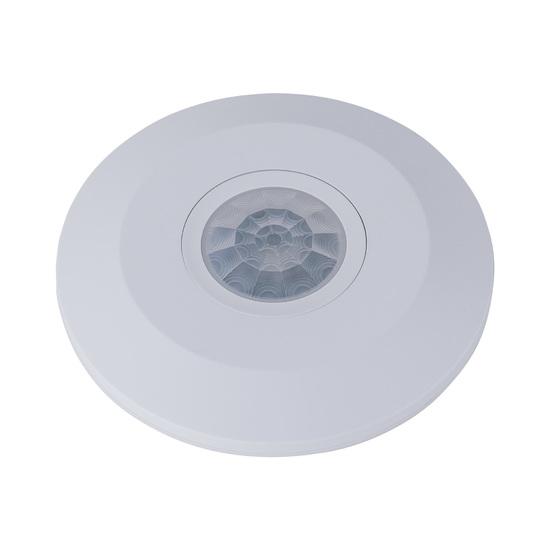 Фото №6 Инфракрасный датчик движения 6m 2,2-4m 2000W IP20 360 Белый SNS-M-11