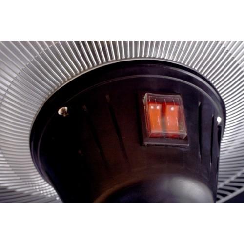Фото №6 Электрический напольный обогреватель Hugett Floor Black 1821-B