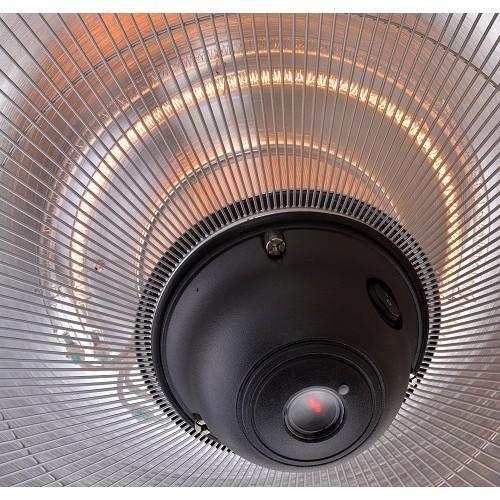 Фото №3 Электрический подвесной обогреватель Hugett Taket Steel 2125