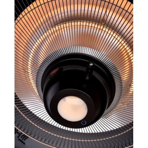 Фото №8 Электрический подвесной обогреватель Hugett Taket Black 2125-B