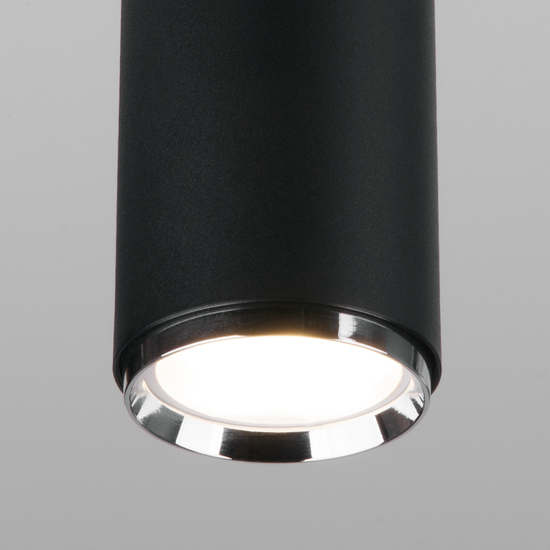 Фото №3 Светильник потолочный черный MRL 1013