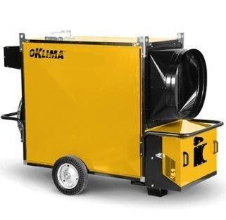 Фото №2 Нагреватель воздуха высокой мощности Oklima SМ 580 (магистральный природный газ)