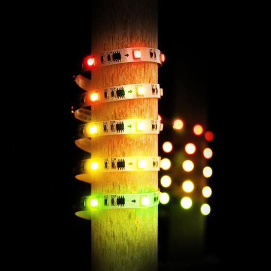 Фото №2 Набор светодиодной ленты 5m 7,2W IP20 RW  Бегущая волна (SLS 01 CWWW IP 20) SLS 01 CWWW IP 20