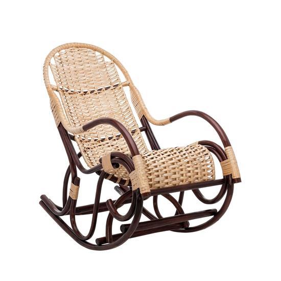 Фото №2 Кресло-качалка Усмань, орех