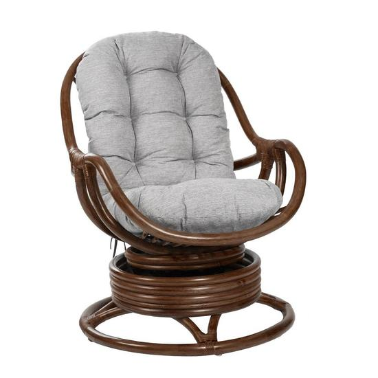 Фото №2 Кресло-качалка KARA с подушкой