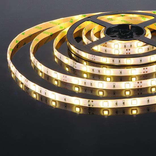 Фото №2 Светодиодная лента 5050/30 LED 7,2W IP65 теплый белый 3300К