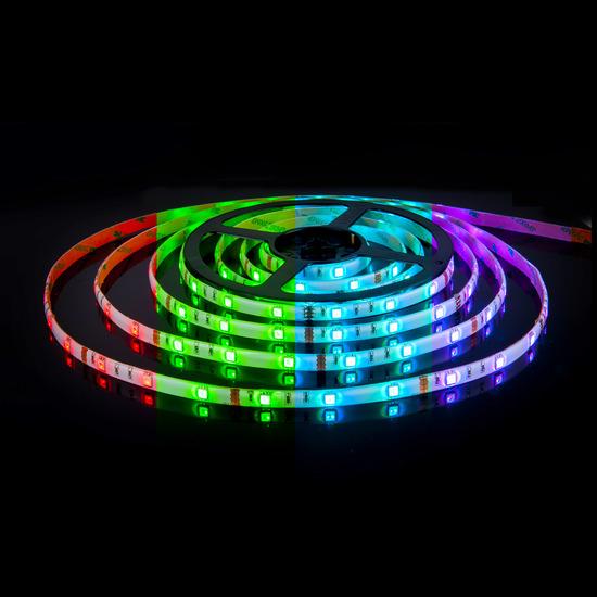 Фото №2 Набор светодиодной ленты 5m 5050 12V 60Led 14,4W IP20 RGB мульти (SLS 01 RGB IP 20) SLS 01 RGB IP 20