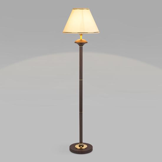 Фото №6 Напольный светильник с абажуром 01086/1 венге