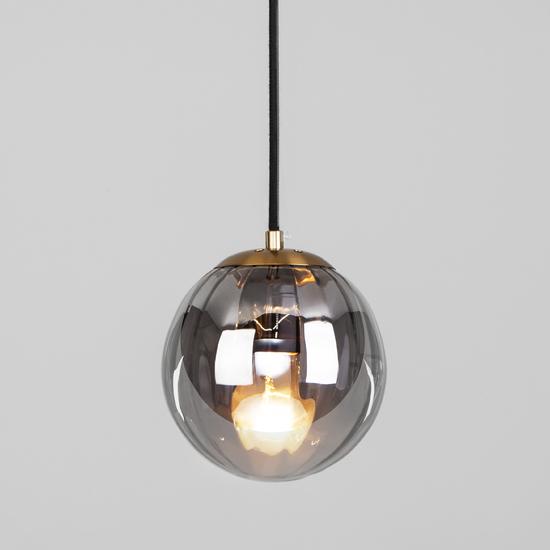 Фото №2 Подвесной светильник со стеклянным плафоном 50207/1 дымчатый