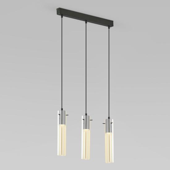 Фото №2 Подвесной светильник со стеклянными плафонами 856 Look