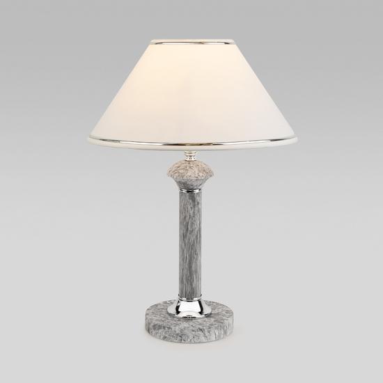 Фото №2 Классическая настольная лампа 60019/1 мрамор