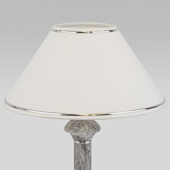 Фото №4 Классическая настольная лампа 60019/1 мрамор