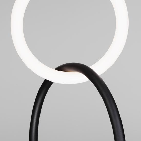 Фото №4 Подвесной светодиодный светильник 90166/2 черный