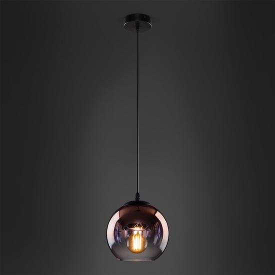 Фото №5 Подвесной светильник со стеклянным плафоном 50200/1 медь